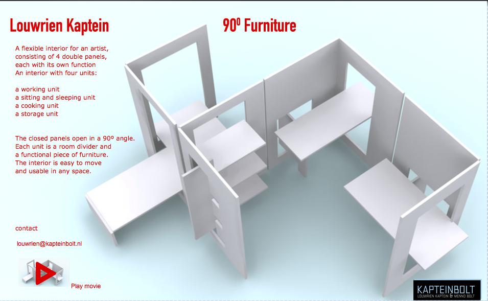 bureau pliable pour t l travailleurs zevillage. Black Bedroom Furniture Sets. Home Design Ideas