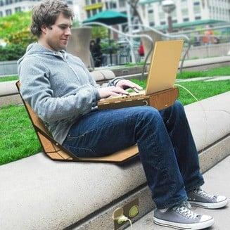 openaire la malette design bureau mobile pour t l travailleurs itin rants zevillage. Black Bedroom Furniture Sets. Home Design Ideas
