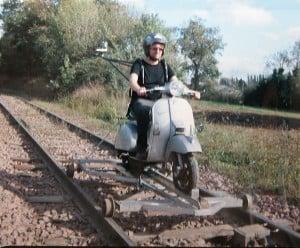 Le scooter draisine de Marc Hamandjian