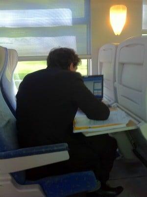 Travailler dans un train Teoz de la SNCF