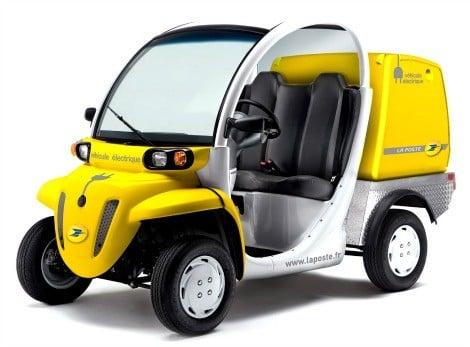 Vehicule Matra - La Poste