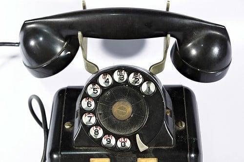 Telephone ancien modele