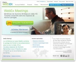 Webex-Webconference