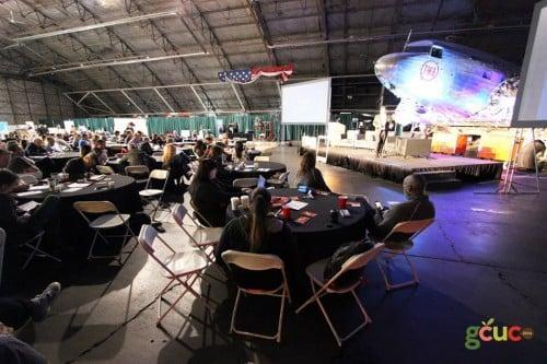 Le GCUC avait lieu dans le musée de l'histoire de l'aviation de Kansas City. Nous étions au milieu d'un magnifique DC3 et d'autres raretés d'époque !