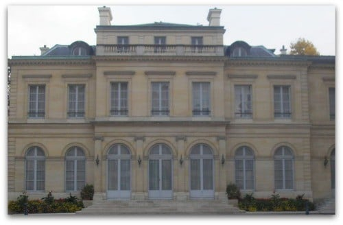 L'Hôtel particulier de Seignelay qui héberge le ministère de la Fonction publique