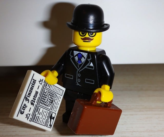 businessman lego