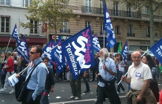 Manif syndicat SUD
