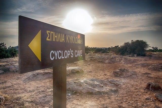 Chypre grotte du Cyclope