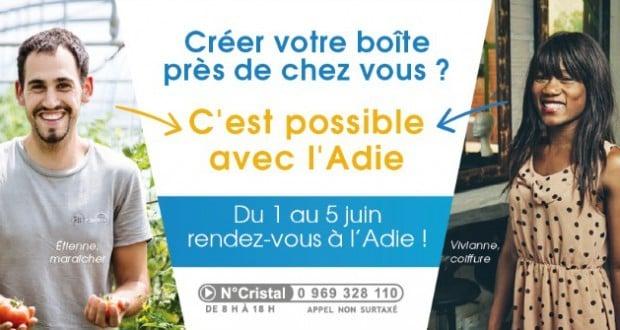 campagne Adie - Créer votre boîte près de chez vous