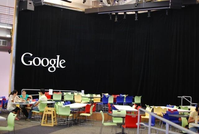 cafeteria dans le Googleplex