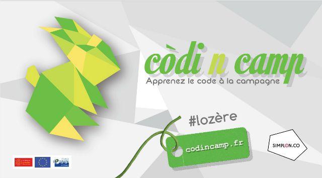 Sticker CodinCamp à Mende en Lozère
