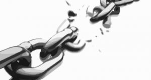 Chaine brisée
