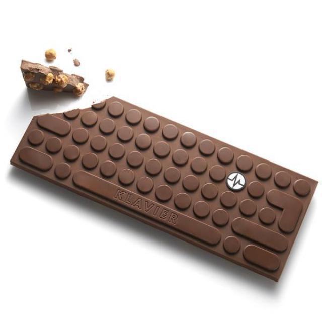 Klavier en chocolat
