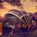 Tente solaire d'Orange