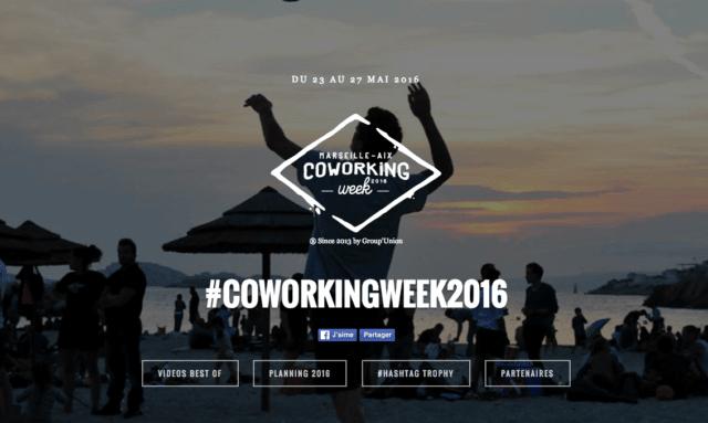 Coworking week 2016 - Marseille