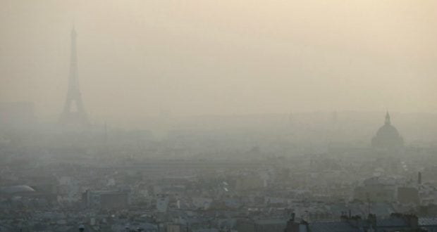 Pollution sur Paris