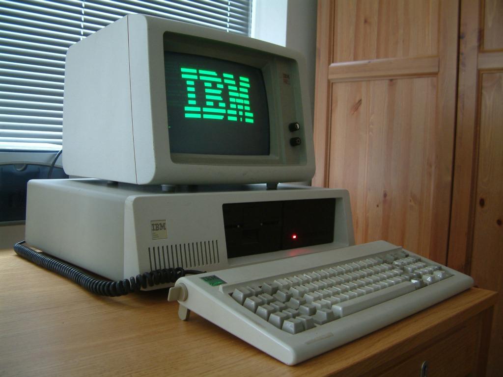 PC historique d'IBM