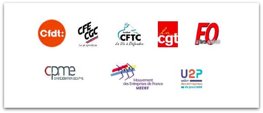 Rapport partenaires sociaux concertation télétravail
