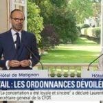 ordonnances télétravail Edouard Philippe Muriel Pénicaud