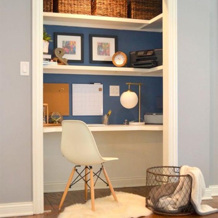 comment installer un bureau domicile qui ne prend pas de