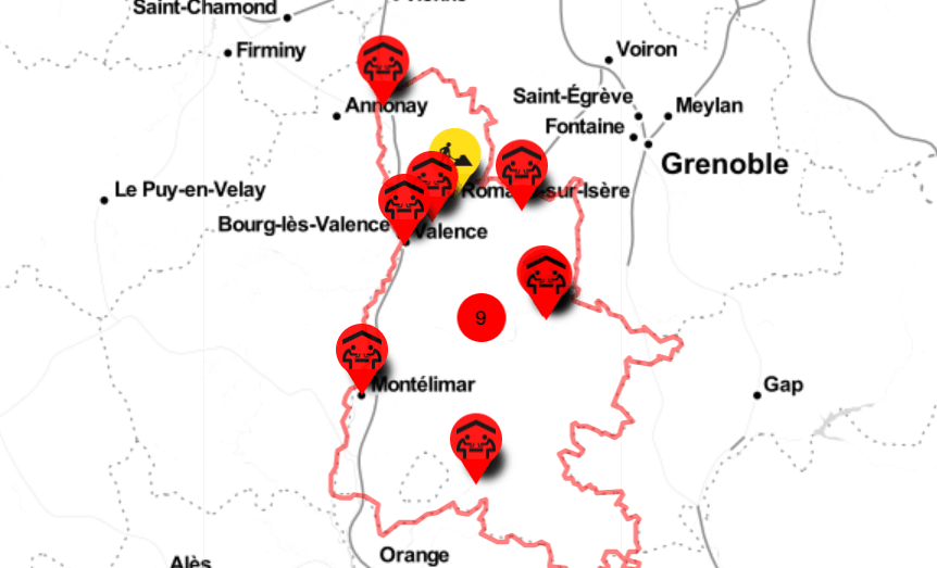 Cédille pro : Reseau coworking Drôme