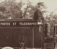 Voiture postale à 'alcool de 1901