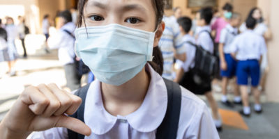 Protection contre le coronavirus en Chine