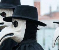 Masques de médecins contre la peste