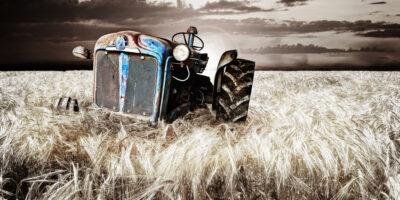 Vieux tracteur - ruralité